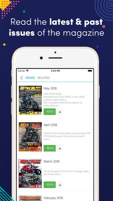 Bike SA (Magazine)Screenshot of 1
