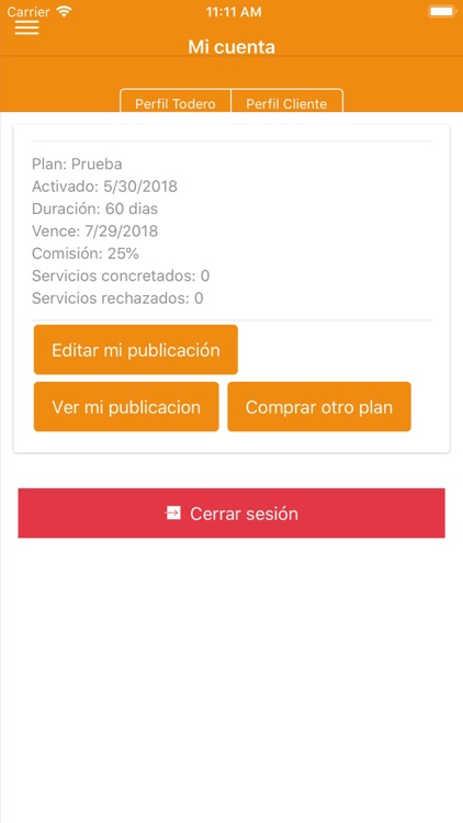 Todero App screenshot-2