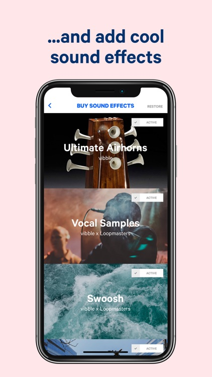vibble - easy music mixing screenshot-3