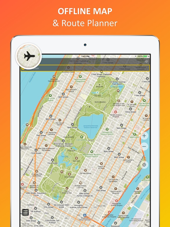 Iphone Map Of New York Offline.New York City Offline Map Ipa Cracked For Ios Free Download