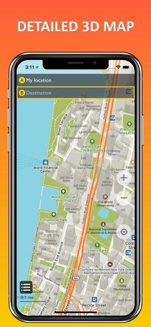 New York City offline map on the App Store