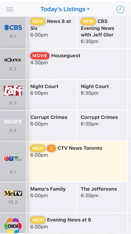 On TV Tonight Canada