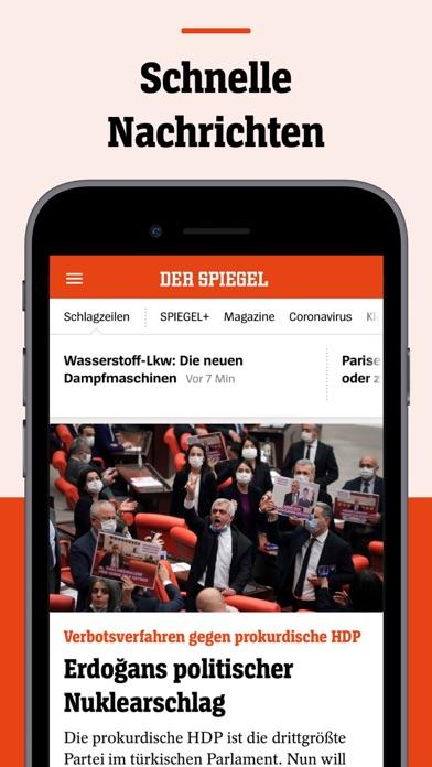 DER SPIEGEL - Nachrichtenのおすすめ画像1