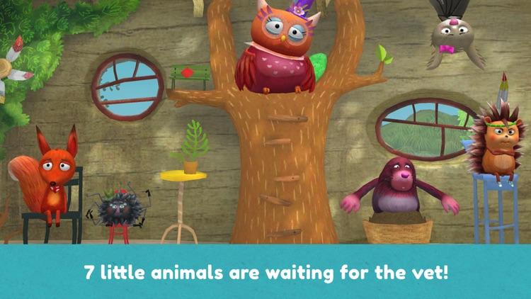 Little Fox Animal Doctor screenshot-3