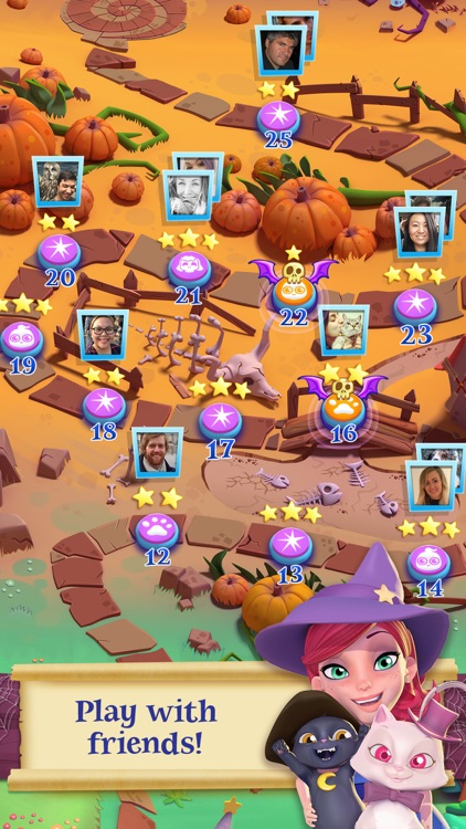 Bubble Witch 2 Saga screenshot-3