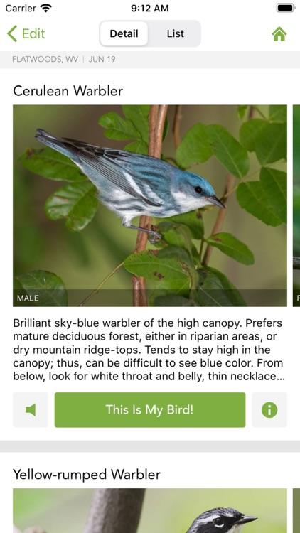 Merlin Bird ID by Cornell Lab screenshot-4