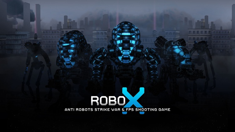 Robo X City War screenshot-0