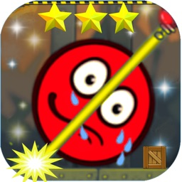 red ball hero - roll and jump
