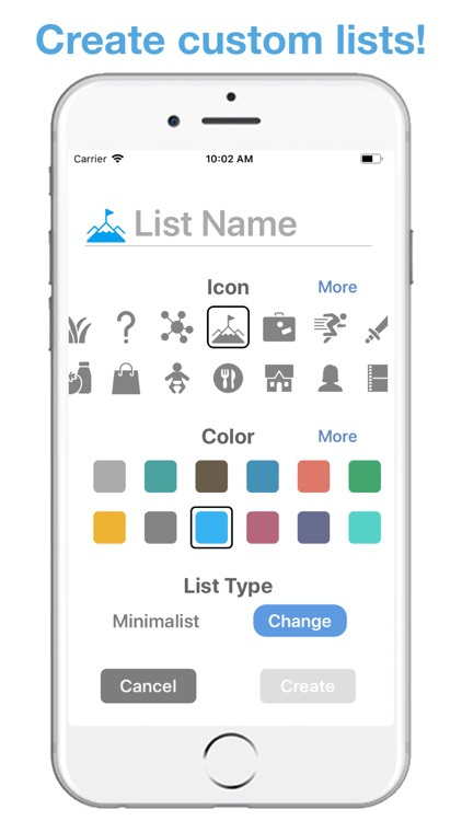 Life Lists: List Organizer screenshot-7