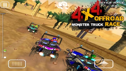4x4 OffRoad Monster Truck Raceのおすすめ画像4