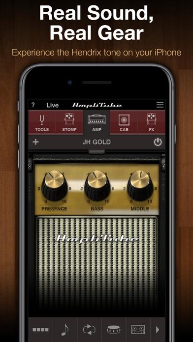 Screenshot #1 pour AmpliTube Jimi Hendrix™