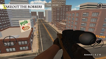 Sniper Shoot:Bank Robbers Gang screenshot one