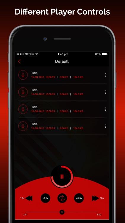 Quick Recorder: Voice Recorder screenshot-5