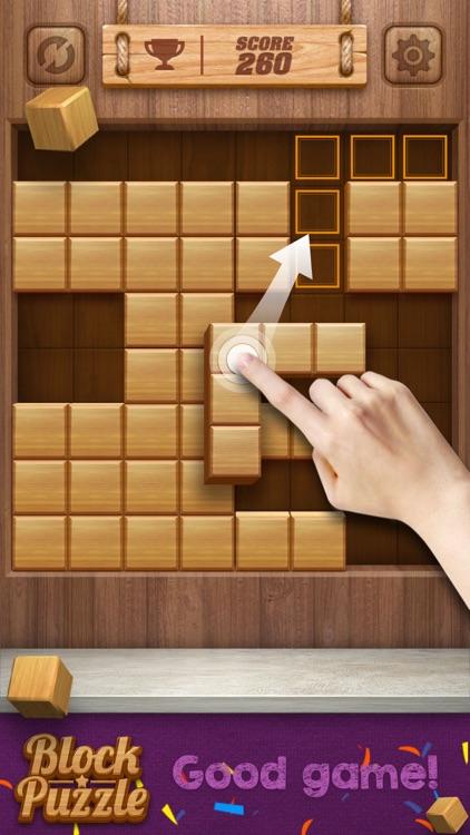 Wood Cube Puzzle screenshot-3