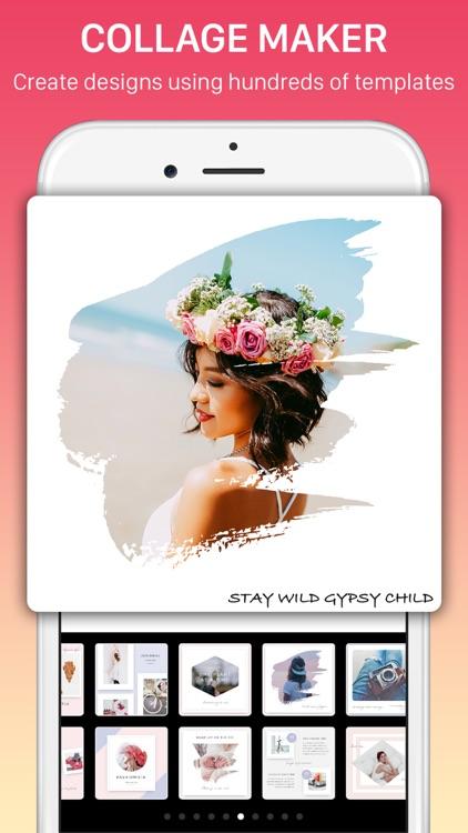 Photo Collage, Mixgram Editor