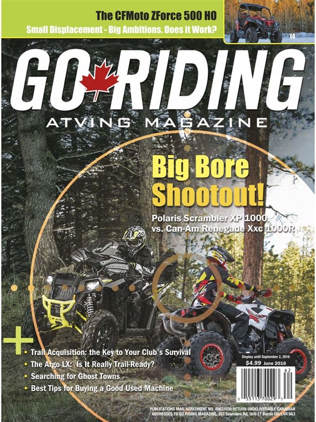 Go Riding on the App Store