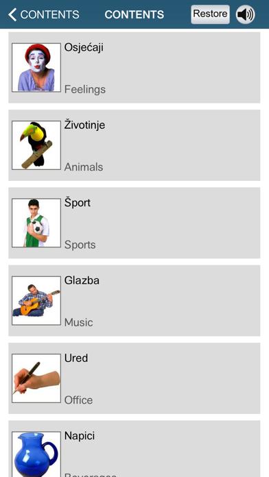 Learn Croatian – 50 languages screenshot four