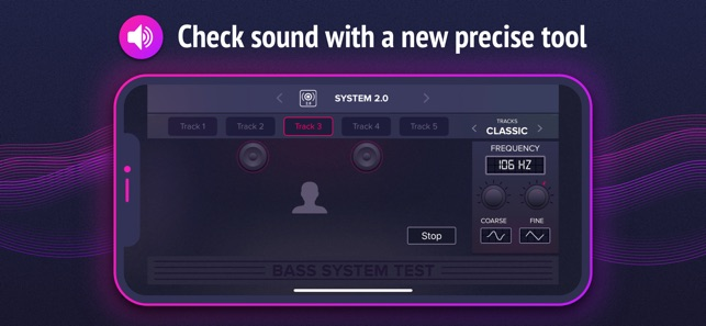 Bass System Test on the App Store