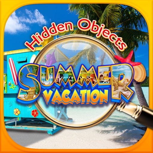 Hidden Object Summer Vacation