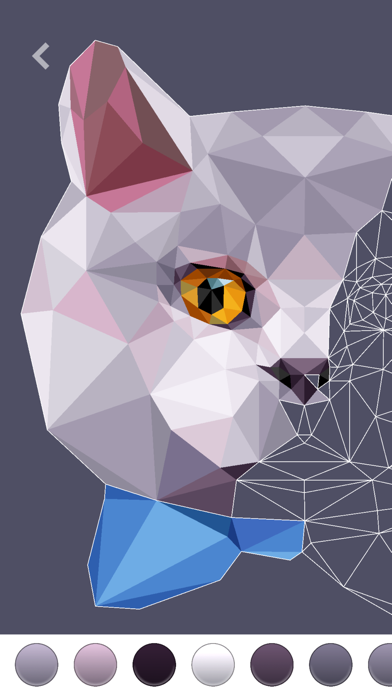 PolyGO - LowPoly Coloring Book på PC