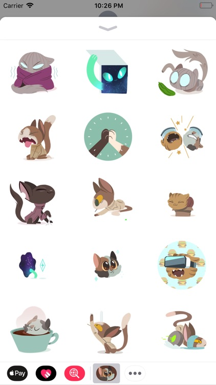 Cat 'S' Trophy Sticker Pack 1