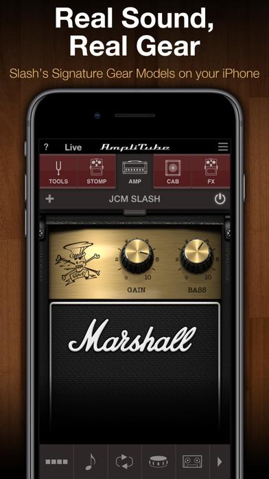 Screenshot #1 pour AmpliTube Slash