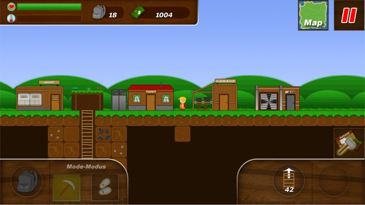Treasure Miner - 2d gem mine