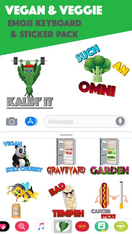 KaleMoji - Vegan Emojis screenshot-0