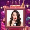 Birthday Cake Photo Frames