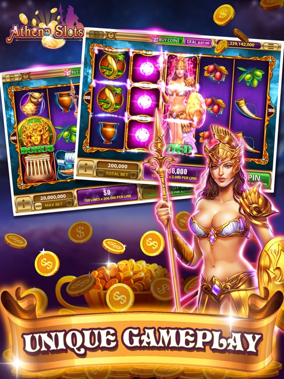 Athena Slots-funny slots-ipad-0