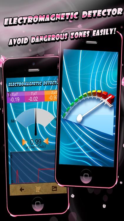 Electromagnetic Detector EMF screenshot-0