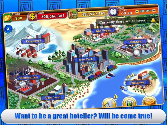 Screenshot #2 for Hotel Tycoon 2