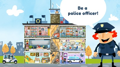 Little Police Station for Kids Screenshots