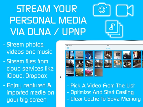 Video & TV Cast | DLNA UPnP HD Screenshots