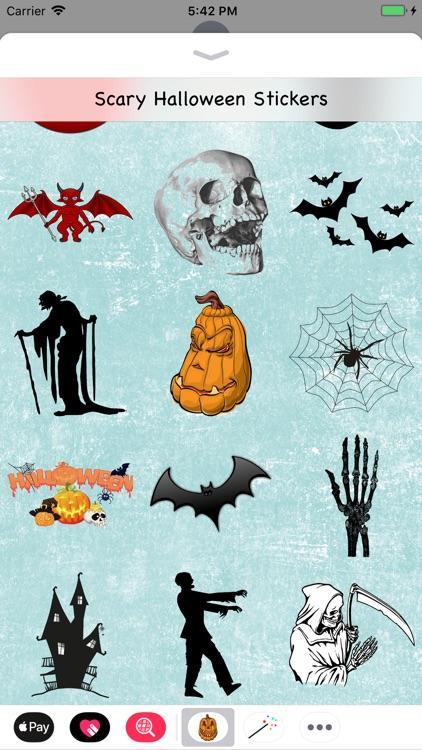 Scary Halloween Stickers screenshot-3