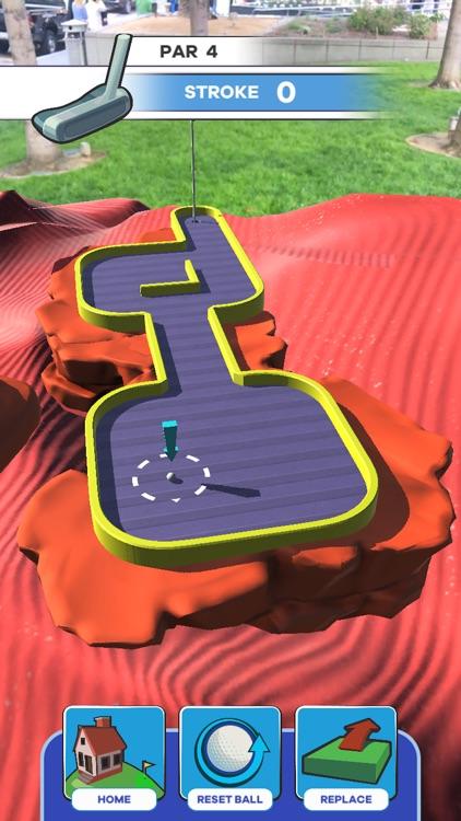 Putt Putt World - AR Mini Golf screenshot-3