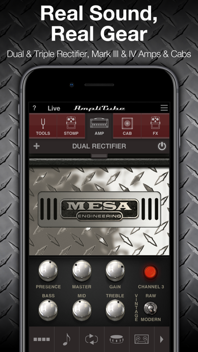 Screenshot #1 pour AmpliTube MESA/Boogie