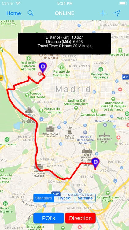 Madrid (Spain) – City Travel screenshot-2
