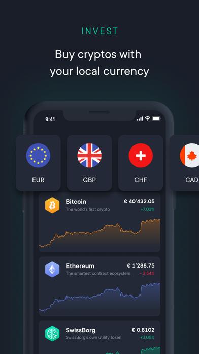 SwissBorg - Invest in Crypto