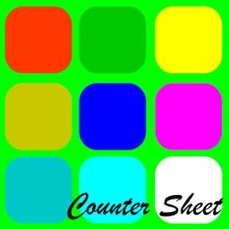 Counter Sheet