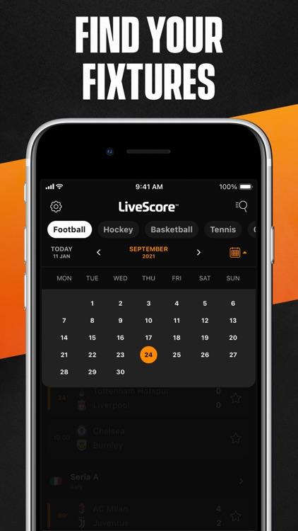 LiveScore: Live Sports Scores screenshot-7