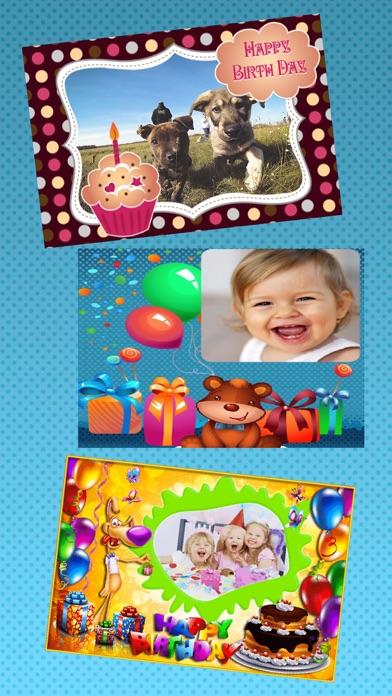 Happy birthday photos frames