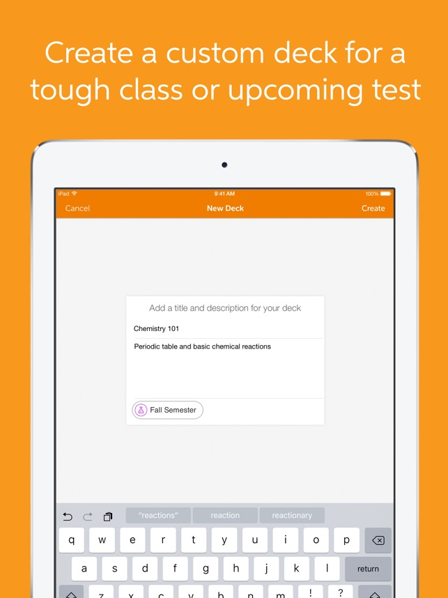 Flashcards+ by Chegg Screenshot