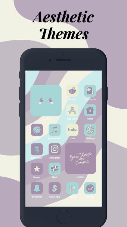 Icon Theme - Aesthetic Kit screenshot-4