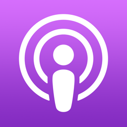 Ícone do app Apple Podcasts