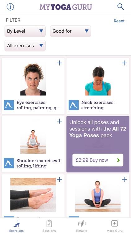 My Yoga Guru Lite screenshot-3