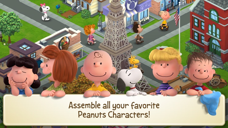 Peanuts: Snoopy's Town Tale screenshot-4