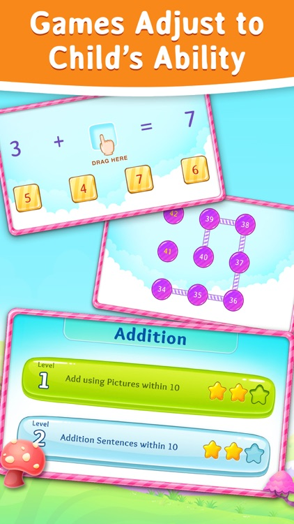 1st Grade Math Learning Games screenshot-3