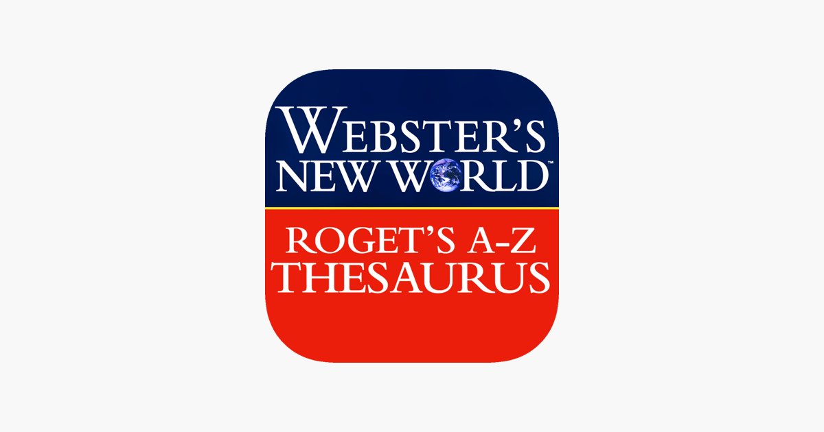 ‎Webster Roget's A-Z Thesaurus