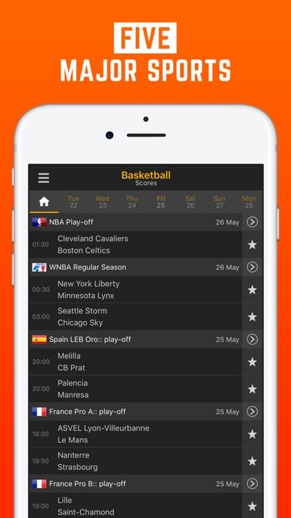 LiveScore: Live Sport Updates screenshot-4
